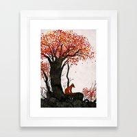 Fantastic Mr. Fox Doesn'… Framed Art Print