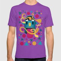 In Your Face Mens Fitted Tee Ultraviolet SMALL