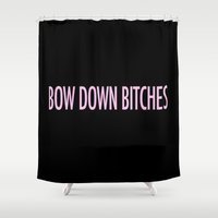 Bow Down Shower Curtain