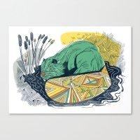 The Beaver Canvas Print