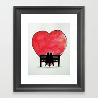 You And Me, Always Framed Art Print