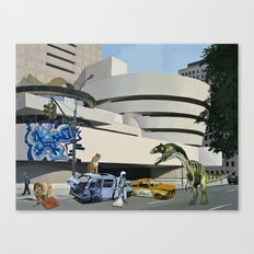 Post-Nuclear Guggenheim Visit Canvas Print