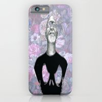 iPhone & iPod Case featuring Beard Anonymity by Lauren Little