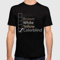 Colorblind SMALL Black Mens Fitted Tee