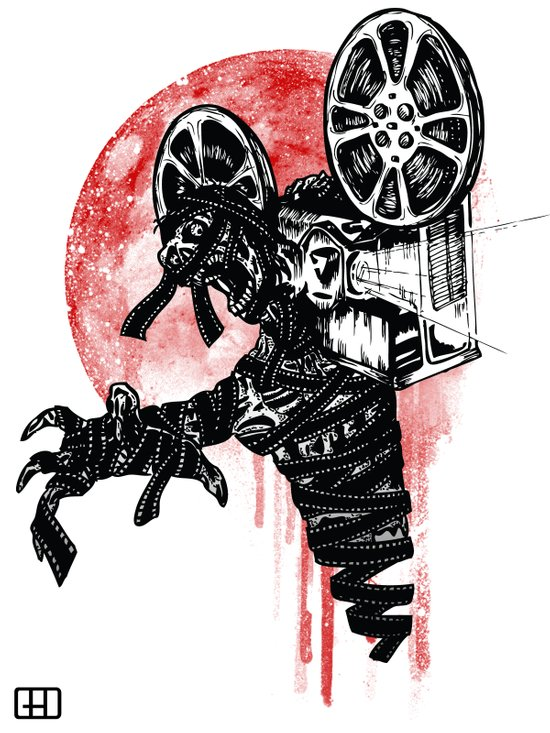 A Film By The Mummy Art Print