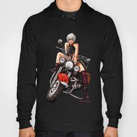 Motorcycle Pinup Hoody