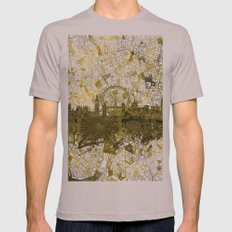 London Mens Fitted Tee Cinder SMALL