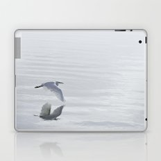 Winter Crane Laptop & iPad Skin