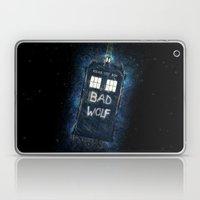Bad Wolf TARDIS Laptop & iPad Skin
