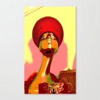 Vintage: The Zulu Hat Canvas Print