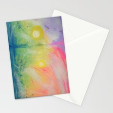 Impressions At Sundown  Stationery Cards