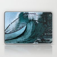 Wave Of Whale Laptop & iPad Skin