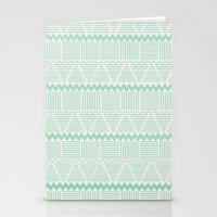 sierra aguamarina Stationery Cards