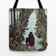 RELENTLESS CORRIDORS Tote Bag