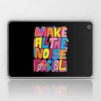 Make All The Noise Possi… Laptop & iPad Skin