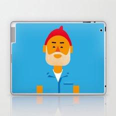 Steve Zissou Laptop & iPad Skin