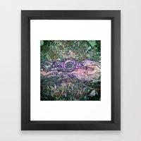 the root Framed Art Print