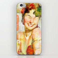 The girl of the 9th floor iPhone & iPod Skin