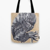 Mars Octopus Tote Bag