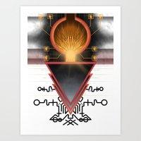 Cerebral Gateway Of The … Art Print