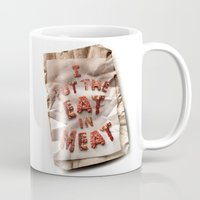 I Put the Eat in Meat Mug