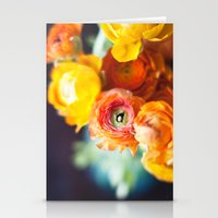 ranuculus Stationery Cards