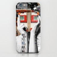 iPhone & iPod Case featuring Crazy Woman - Lisa Lara Bella by Marko Köppe