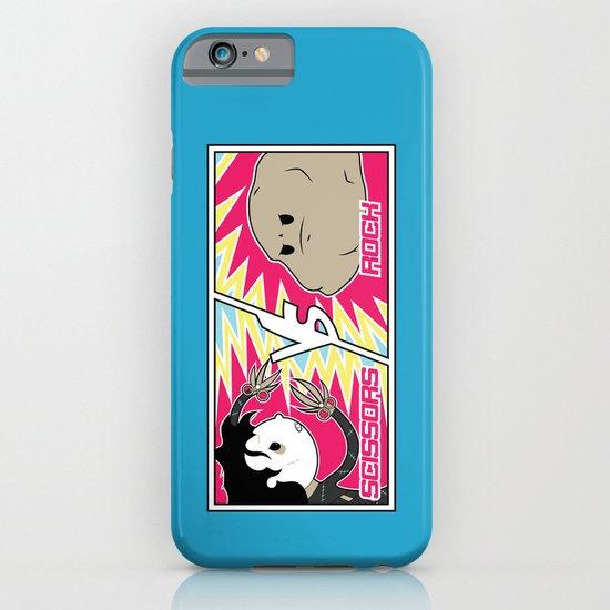 Scissors Vs Rock iPhone & iPod Case