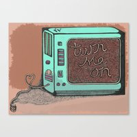 The 21st Century Love Of… Canvas Print