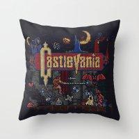 Castlevania  Throw Pillow