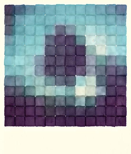 Polaroid Pixels II (Tree) Art Print
