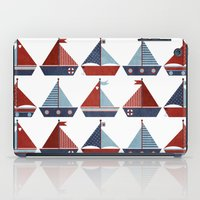 My Little Sail Boat. iPad Case