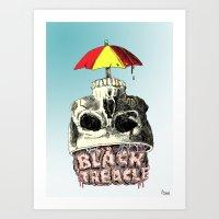 Black Treacle Art Print