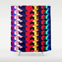 Spectrum Cubes / Pattern… Shower Curtain
