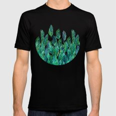 Jungle Rising  SMALL Black Mens Fitted Tee