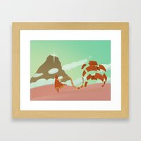 Grow In The Wind Framed Art Print