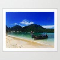 thailand krabi Art Print