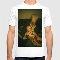 4 Generations  Mens Fitted Tee White SMALL
