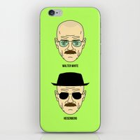 Walter White or Heisenberg? iPhone & iPod Skin