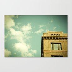 Green Skies Canvas Print