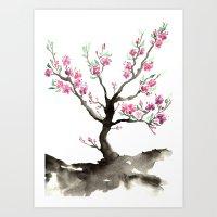 Sakura Art Print