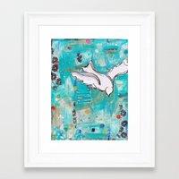 Fly Home Framed Art Print