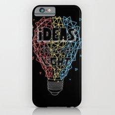 Ideas need light (black version) Slim Case iPhone 6s