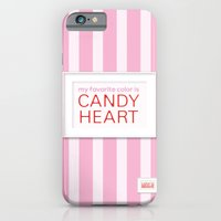 iPhone & iPod Case featuring my favorite color is candy heart by ColorisBrave