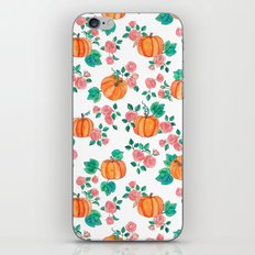 Pumpkins and Roses iPhone & iPod Skin