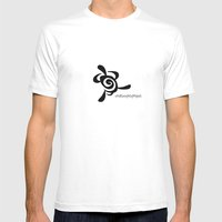 Tortoise Mens Fitted Tee White SMALL
