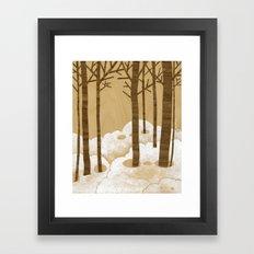 Forest is Alive! Framed Art Print