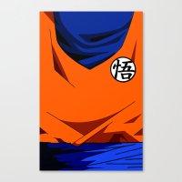 Goku's Suit DBZ Canvas Print