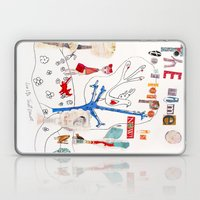 The Time To Be Happy Is … Laptop & iPad Skin