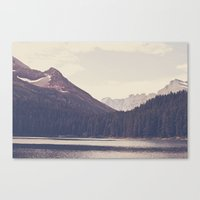 Morning Mountain Lake Canvas Print